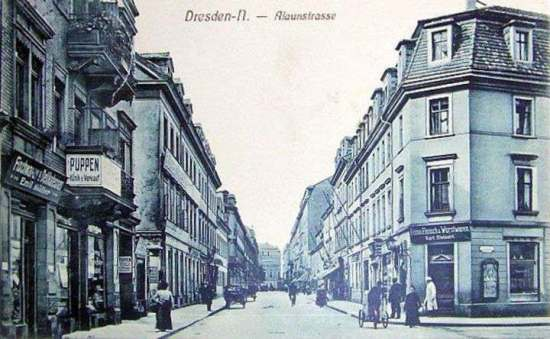 Alaunstraße historisch