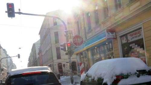 Stop zum Winter ... Schneeschmelze jetzt.