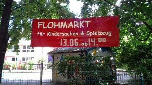 Kindersachen-Flohmarkt am Donnerstag