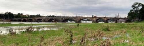 Albertbrücke ab morgen nur noch zweispurig