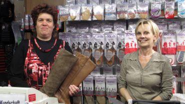 Katrin Neuber und Kollegin Liske: eure Füße in ihren Händen
