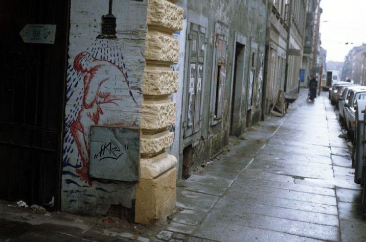 Nordbadeingang 1992 - Foto: Lothar Lange