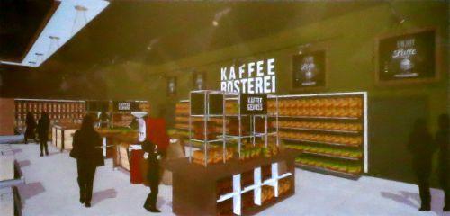 eine Dresdner Kaffee-Rösterei soll einziehen ...