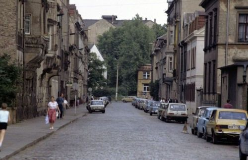 1990 war in der Katharinenstrasse noch die Volkspolizei beheimatet. Foto: Lothar Lange