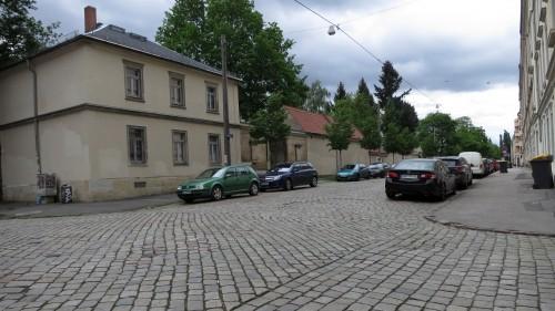 Die Friedensstraße erhält Gehwegsvorstreckungen.