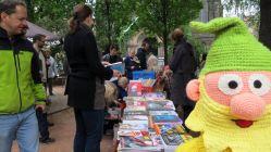 Trotz Nieselregens war das Comic-Fest sehr gut besucht.