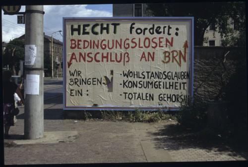 Vorbei die Zeiten als der Hecht Anschluss an die BRN forderte, inzwischen feiern die Hechtler ihr eigenes Fest.