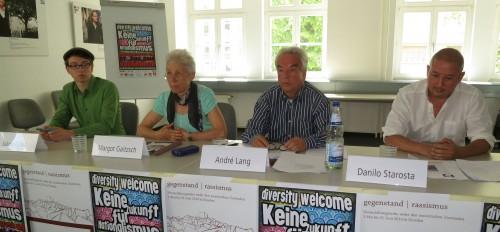 Vertreter des Forum gegen Rechts