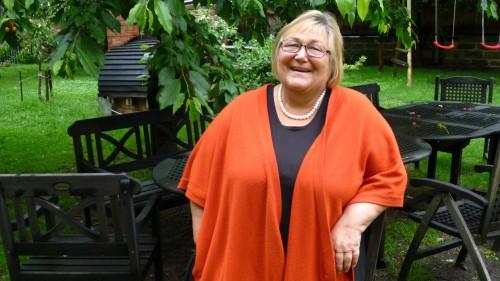 So kennt man Friederike Beier: Immer ein herzliches Lachen im Gesicht.