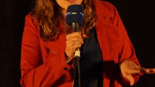Josephine Berkholz aus Berlin berührte die Zuhörenden mit großen Worten, über die es noch lange Nachzudenken gilt.