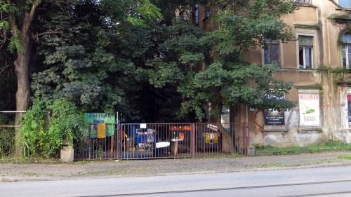 Freiraum Elbtal an der Leipziger Straße