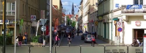 Viertel im Wandel ... Foto: Archiv