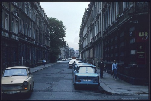 Förstereistraße 1990 - Archiv: Lother Lange