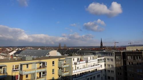 Blick über die Äußere Neustadt