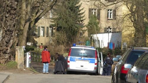 Besorgte Spaziergänger hatten heute Nachmittag nochmal die Dresdner Polizei verständigt.