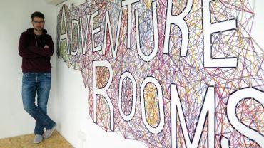 Christoph Eske in seinen Adventure Rooms.