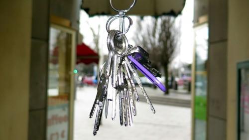 Wie viele Schlüssel hängen an Christophs Bund?