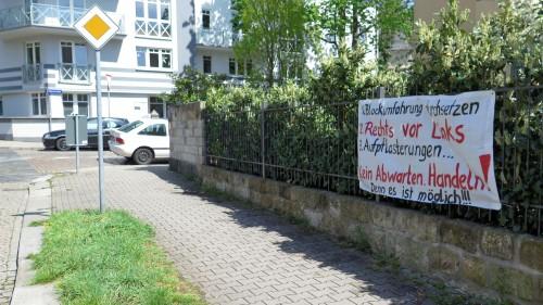 Forderungen der Anwohner an der Marienallee