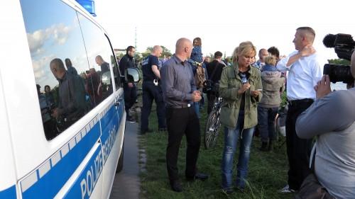 Theoretisch hätte die Polizeibehörde auch gleich das 5.000-Euro-Knöllchen übergeben können.