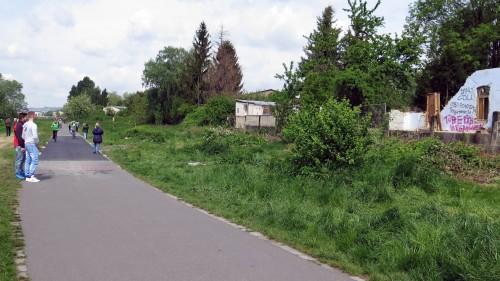 Neuer Asphalt für den Radweg