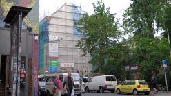 Louisenstraße 34 ohne Wandbild.