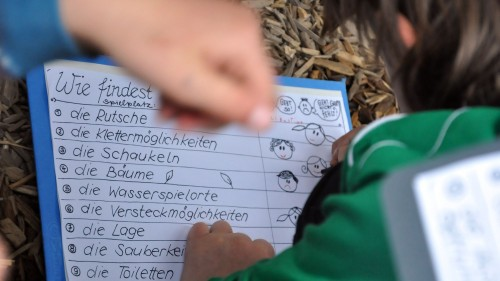 Checkliste für Spielplatz-Tester - Foto: Una Giesecke