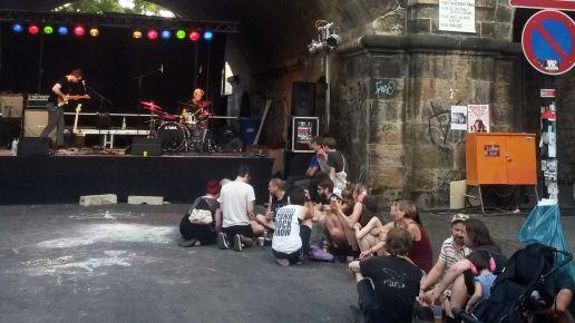 Bühne an der Tannenstrasse