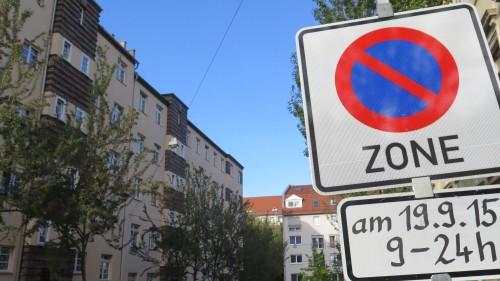Auch auf der Ottostraße wird gefeiert.