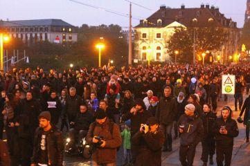 """Herz statt Hetze"" - Demonstration - Foto: Youssef Safwan"
