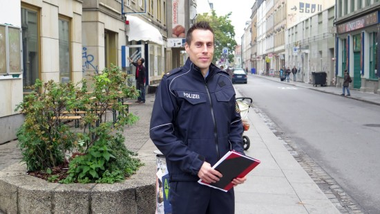 Revierleiter Dresden-Nord Polizeirat Matthias Imhof