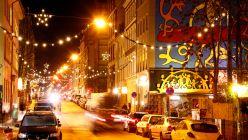 Louisenstraße im Weihnachtsglanz - Foto: Youssef Safwan