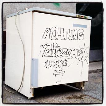 Gestalteter Kühlwürfel