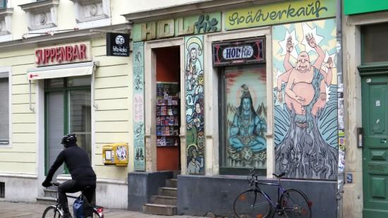Spätshop auf der Rothenburger Straße