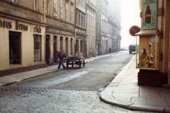 Kohlenmann auf der Martin-Luther-Straße - Foto: Lothar Lange