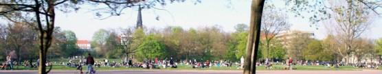 Der Alaunplatz zum Frühlingsauftakt 2010