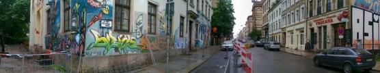 Louisenstraße im Juni 2010
