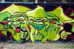 Graffiti im August 2011