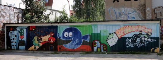 Garagen-Komplex am Bischofsweg Juni 2012