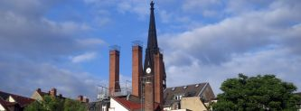 Martin-Luther-Kirche im Juni 2014