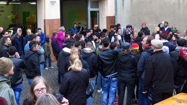 Rund 200 Besucher waren gestern im Hof der Katharinenstraße zu Gast.