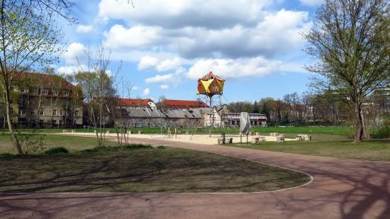 Spielplatz aus dem Russensportplatz