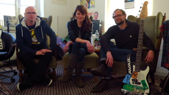 Goldner Anker: Stoffel, Claudi, Malle