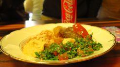 Kafta-Menü mit Taboulé
