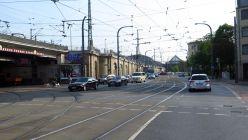 Umleitungen an der Anton-/Leipziger Straße