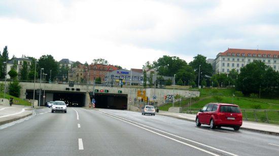 Tunnel Waldschlößchen: Wartungsarbeiten im Waldschlößchentunnel