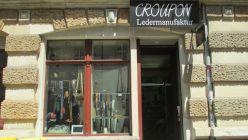 Die Croupon-Ledermanufaktur auf der Louisenstraße 19