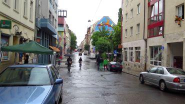 Leere Louisenstraße