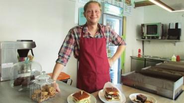 Stefan Flügge im Kings Bread
