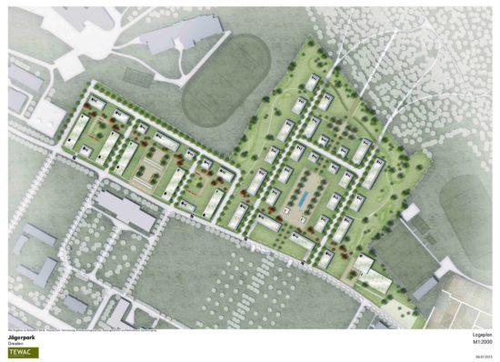 So ist das östliche Wohngebiet geplant.