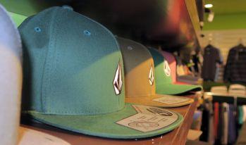 Caps in allen Farben und Formen.